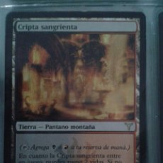 Juegos Antiguos: CRIPTA SANGRIENTA. MAGIC THE GATHERING. MTG.. Lote 173093365