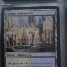 Juegos Antiguos: FUENTE CONSAGRADA. MAGIC THE GATHERING. MTG.. Lote 173093407