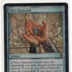 Juegos Antiguos: MOX DIAMOND. FOIL , EN INGLES MAGIC THE GATHERING. Lote 173142008