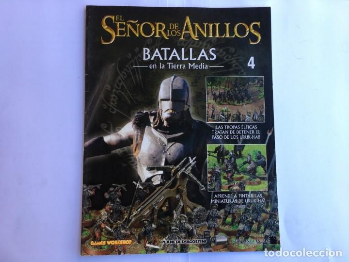 EL SEÑOR DE LOS ANILLOS BATALLAS DE LA TIERRA MEDIA Nº 4 (Juguetes - Rol y Estrategia - Otros)