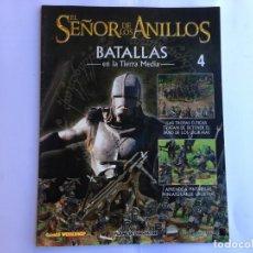 Juegos Antiguos: EL SEÑOR DE LOS ANILLOS BATALLAS DE LA TIERRA MEDIA Nº 4. Lote 173148358