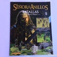 Juegos Antiguos: EL SEÑOR DE LOS ANILLOS BATALLAS DE LA TIERRA MEDIA Nº 5. Lote 173148409