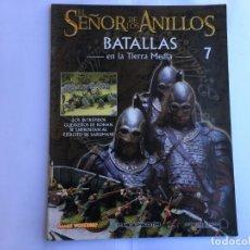 Juegos Antiguos: EL SEÑOR DE LOS ANILLOS BATALLAS DE LA TIERRA MEDIA Nº 7. Lote 173148499