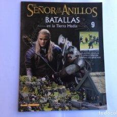 Juegos Antiguos: EL SEÑOR DE LOS ANILLOS BATALLAS DE LA TIERRA MEDIA Nº 9. Lote 173148635