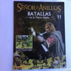 Juegos Antiguos: EL SEÑOR DE LOS ANILLOS BATALLAS DE LA TIERRA MEDIA Nº 11. Lote 173148723
