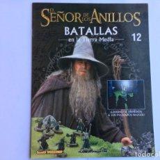 Juegos Antiguos: EL SEÑOR DE LOS ANILLOS BATALLAS DE LA TIERRA MEDIA Nº 12. Lote 173148790