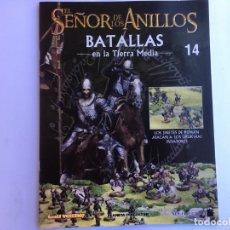 Juegos Antiguos: EL SEÑOR DE LOS ANILLOS BATALLAS DE LA TIERRA MEDIA Nº 14. Lote 173148868