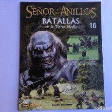 Juegos Antiguos: EL SEÑOR DE LOS ANILLOS BATALLAS DE LA TIERRA MEDIA Nº 16. Lote 173149014