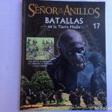 Juegos Antiguos: EL SEÑOR DE LOS ANILLOS BATALLAS DE LA TIERRA MEDIA Nº 17. Lote 173149033