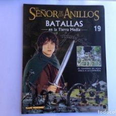 Juegos Antiguos: EL SEÑOR DE LOS ANILLOS BATALLAS DE LA TIERRA MEDIA Nº 19. Lote 173149090