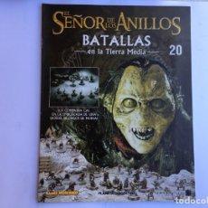 Juegos Antiguos: EL SEÑOR DE LOS ANILLOS BATALLAS DE LA TIERRA MEDIA Nº 20. Lote 173149100