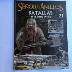 Juegos Antiguos: EL SEÑOR DE LOS ANILLOS BATALLAS DE LA TIERRA MEDIA Nº 21. Lote 173149112