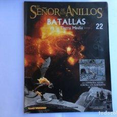 Juegos Antiguos: EL SEÑOR DE LOS ANILLOS BATALLAS DE LA TIERRA MEDIA Nº 22. Lote 173149137