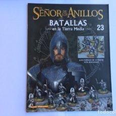 Juegos Antiguos: EL SEÑOR DE LOS ANILLOS BATALLAS DE LA TIERRA MEDIA Nº 23. Lote 173149153