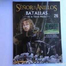 Juegos Antiguos: EL SEÑOR DE LOS ANILLOS BATALLAS DE LA TIERRA MEDIA Nº 26. Lote 173149179