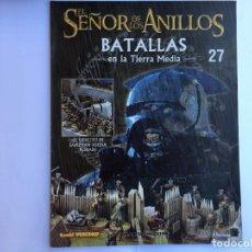 Juegos Antiguos: EL SEÑOR DE LOS ANILLOS BATALLAS DE LA TIERRA MEDIA Nº 27. Lote 173149189