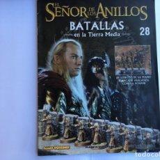 Juegos Antiguos: EL SEÑOR DE LOS ANILLOS BATALLAS DE LA TIERRA MEDIA Nº 28. Lote 173149233