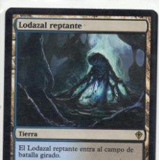 Juegos Antiguos: LODAZAL REPTANTE , MAGIC THE GATHERING. Lote 173168459