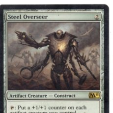 Juegos Antiguos: STEEL OVERSEER , MAGIC THE GATHERING. Lote 173170340