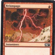 Juegos Antiguos: RELÁMPAGO , M11 MAGIC THE GATHERING. Lote 173354552