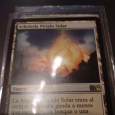 Juegos Antiguos: ARBOLEDA PÉTALO SOLAR ,M10 MAGIC THE GATHERING. Lote 173423964