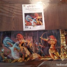 Juegos Antiguos: DUNGEONS AND DRAGONS CASTLES AND CRUSADES - GMS SCREEN + AVENTURA. Lote 173460967