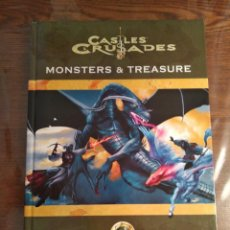 Juegos Antiguos: DUNGEONS AND DRAGONS CASTLES AND CRUSADES - MONSTERS AND TREASURE - LIBRO DE REGLAS BÁSICO. Lote 173460977