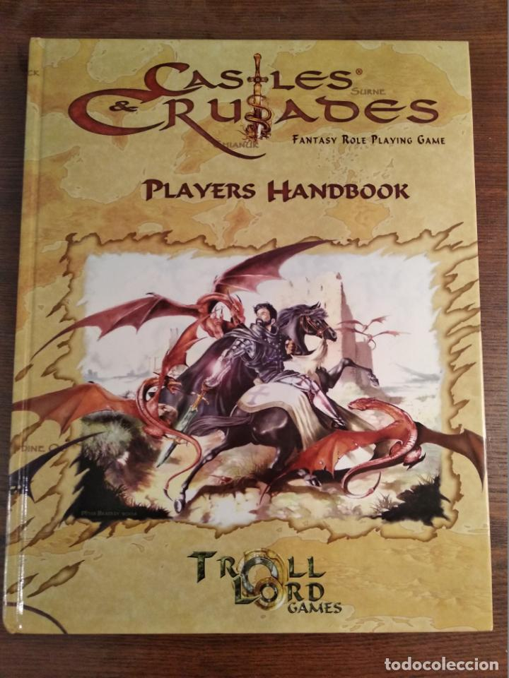 Juegos Antiguos: Dungeons and Dragons Castles and Crusades - Player`s Handbook - libro de reglas básico - Foto 1 - 173460978