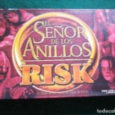 Juegos Antiguos: SEÑOR ANILLOS RISK COMPLETO. Lote 173550843