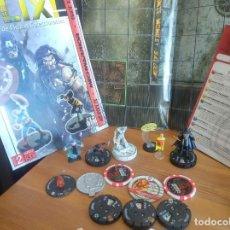 Juegos Antiguos: PACK HEROCLIX MAPA GIGANTE KRAKOA MADRIPOOR REVISTA MAS FIGURAS MAS TARJETAS HERO CLIX MTG MAGIC. Lote 173756728