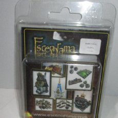 Jogos Antigos: ESCENORAMA, 5 X BASE D 40, URBAN, NUEVAS. Lote 173818630