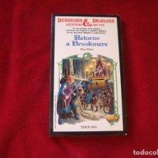 Juegos Antiguos: DUNGEONS & DRAGONS Nº 4 RETORNO A BROOKMERE TIMUN MAS 1986. Lote 173851195