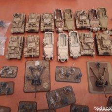 Juegos Antiguos: FLAMES OF WAR LOTE ÁFRICA KORPS E ITALIANOS. Lote 173874749