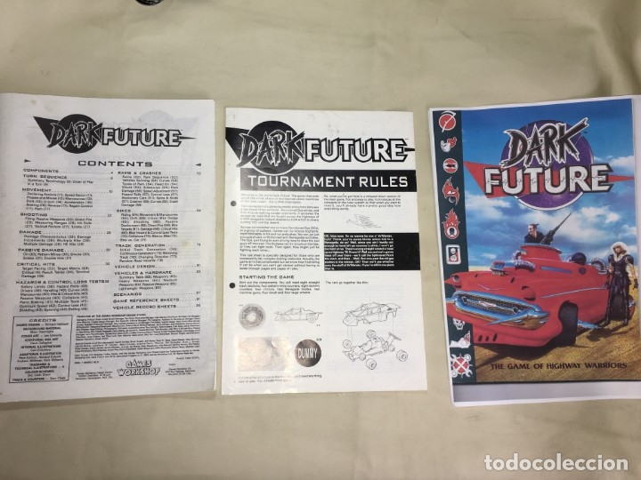 Juegos Antiguos: JUEGO DE MESA DARK FUTURE DE GAMES WORKSHOP - Foto 14 - 173892102