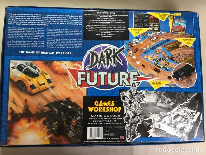 Juegos Antiguos: JUEGO DE MESA DARK FUTURE DE GAMES WORKSHOP - Foto 17 - 173892102