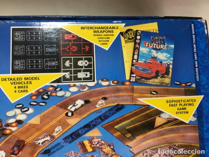 Juegos Antiguos: JUEGO DE MESA DARK FUTURE DE GAMES WORKSHOP - Foto 19 - 173892102