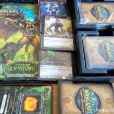 Juegos Antiguos: WORLD OF WARCRAFT CARTAS LA MARCHA DE LA LEGION TCG MTG LOTE PC RARO AÑO 2007 MAGIC. Lote 173896125