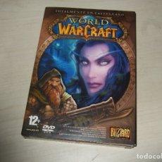 Juegos Antiguos: VIDEOJUEGO WORLD OF WARCRAFT PC. Lote 173933535
