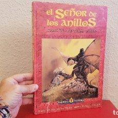 Juegos Antiguos: LIBRO EL SEÑOR DE LOS ANILLOS AVENTURAS BASICO TIERRA MEDIA 3001 1991 JUEGO ROL INTERNACIONAL . Lote 173989507