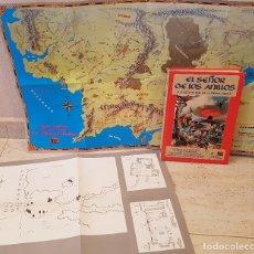 Juegos Antiguos: LIBRO EL SEÑOR DE LOS ANILLOS 1989 JUEGO ROL AVENTURAS TIERRA MEDIA PLANOS INTERNACIONAL . Lote 173989899