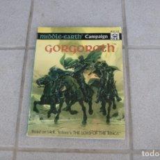 Juegos Antiguos: GORGOROTH SUPLEMENTO JUEGO ROL SEÑOR ANILLOS ICE MERP JOC INTERNACIONAL TIERRA MEDIA 3112 INGLÉS. Lote 174418259