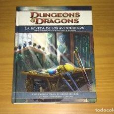 Juegos Antiguos: DUNGEONS AND DRAGONS LA BÓVEDA DE LOS AVENTUREROS SUPLEMENTO PARA EL JUEGO DE ROL D&D DEVIR. Lote 174074215