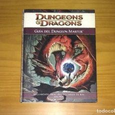 Juegos Antiguos: DUNGEONS AND DRAGONS GUÍA DEL DUNGEON MASTER REGLAMENTO PRINCIPAL DEL JUEGO DE ROL D&D DEVIR. Lote 174074339