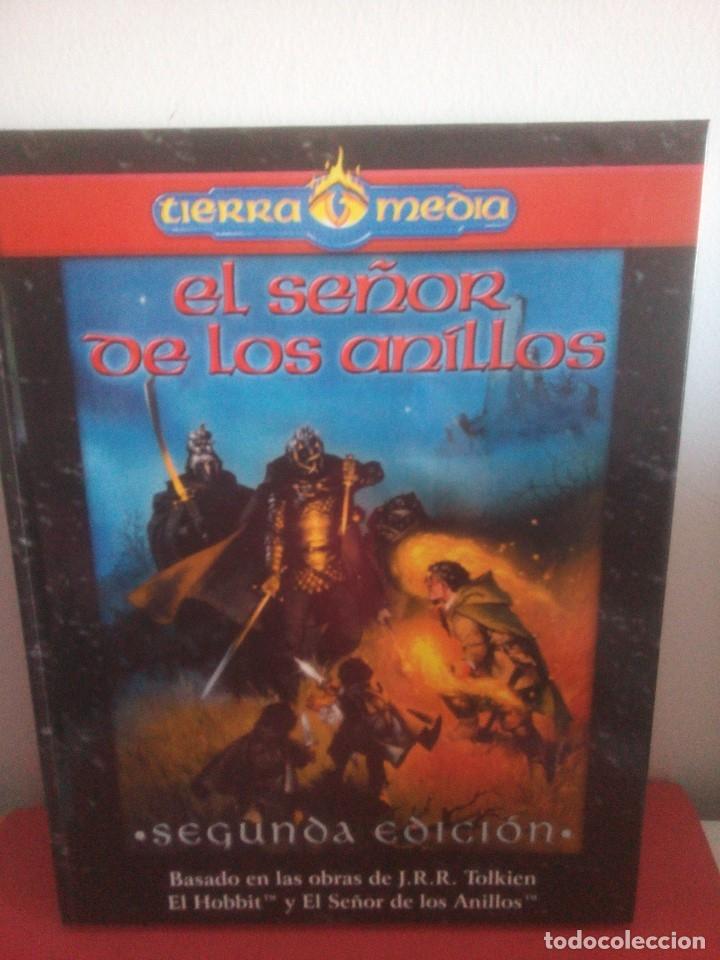Juegos Antiguos: Libro - El señor de los anillos - segunda edición - tierra media - Foto 2 - 175112530