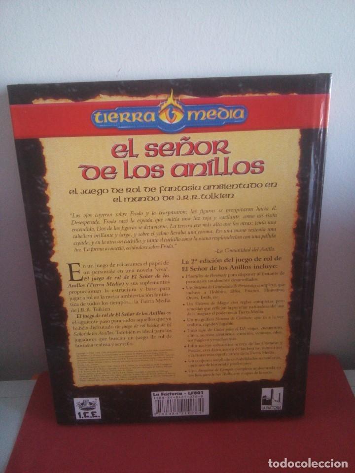 Juegos Antiguos: Libro - El señor de los anillos - segunda edición - tierra media - Foto 5 - 175112530