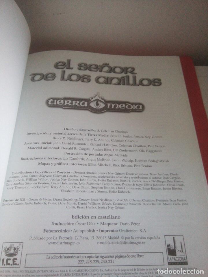 Juegos Antiguos: Libro - El señor de los anillos - segunda edición - tierra media - Foto 6 - 175112530