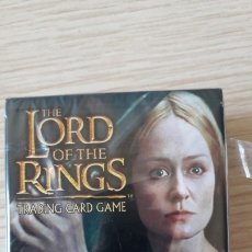 Juegos Antiguos: JUEGO DE CARTAS THE LORD OF THE RINGS - BATTLE OF HELM'S DEEP. Lote 175181077