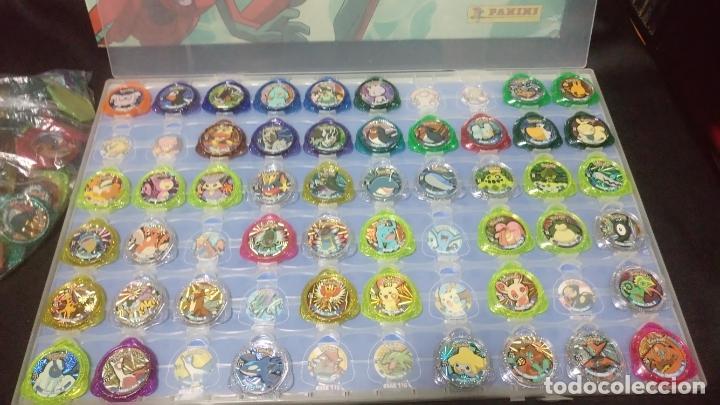 Juegos Antiguos: pokemon kraks album + kraks faltan 25 por completar, + regalo bolsa con 46 kraks repetidos - Foto 2 - 270562598