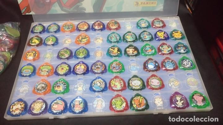 Juegos Antiguos: pokemon kraks album + kraks faltan 25 por completar, + regalo bolsa con 46 kraks repetidos - Foto 3 - 270562598
