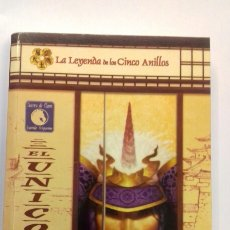 Juegos Antiguos: EL UNICORNIO NOVELA Nº 2 DE GUERRA DE CLANES DE LA LEYENDA DE LOS CINCO ANILLOS DE LA FACTORIA. Lote 175590069